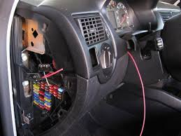 how to install a boost gauge and wires in an mkiv vw or audi