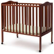 Porta Crib Bedding Sets by Delta Children Folding Portable Crib With Mattress Walmart Com