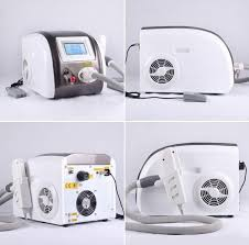 portable q switched nd yag laser tattoo removal machine color