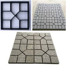 Stepping Stone Molds Uk 8 9 grid driveway stone mold paving concrete stepping stone mould