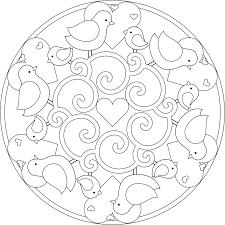 spring printable mandalas cool images mandala pinterest