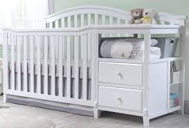 white mini crib with changing table crib with changing table besthomedecorationtrends site