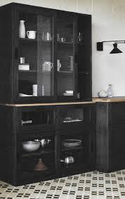 meuble de cuisine noir une cuisine déco à composer