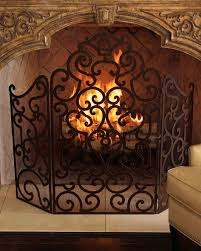 iron fireplace screens binhminh decoration