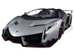 lamborghini veneno model car lamborghini veneno roadster grey with line 1 18 diecast model