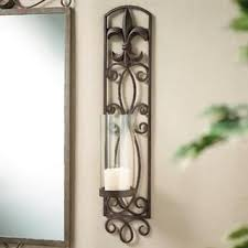 Fleur De Lis Wall Sconce Fleur De Lis Wall Sconce Candle Holder