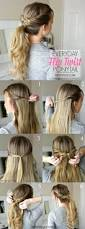 Easy On The Go Hairstyles by Best 25 Easy Hairstyles Ideas On Pinterest Simple Hairstyles