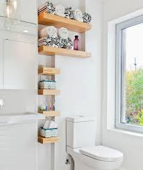 small bathroom decorating ideas pictures via wanda ely architect diy recessed shelves on a budget simple