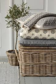 best 25 grey wicker baskets ideas on pinterest painted baskets