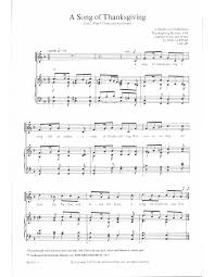 song of thanksgiving two part by farrar j w pepper sheet