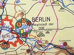 Map Of Berlin Germany by Vintage Map Of Industry In East Germany For Sale At Pamono
