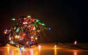 holiday christmas lights colorful full hd wallpaper for
