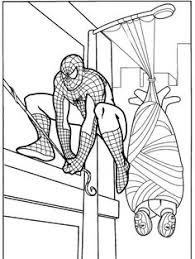 spiderman coloring book pages kid stuff spiderman