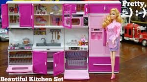 Kitchen Set Pink Kitchen Play Set For Little Girls A Complete Kitchen Set