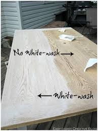 white washed wood dining table appuesta me