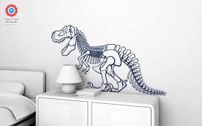 t rex dinosaur xl wall decal nursery kids rooms wall decals boy t rex dinosaur wall decals xl