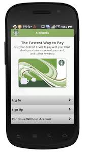 starbucks app android starbucks pushes out android app prepping mobile payments at