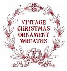 155 best wreaths of vintage ornaments images on