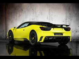 2011 458 italia specs 2011 mansory 458 italia siracusa rear angle 1920x1440