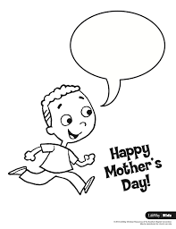 mother u0027s day coloring sheets