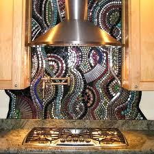 colorful kitchen backsplash mosaic glass tile backsplash mosaic