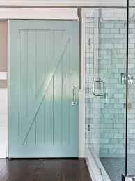 our design coastal bathrooms barn doors and barn