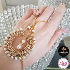 bracelet hand chain images Madz fashionz uk hennabyang asian bespoke kundan handchain slave jpg