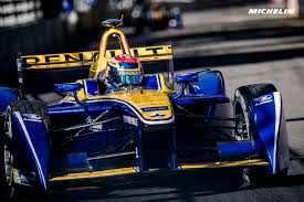 renault one fia formula e london eprix weekend crowns buemi and renault e