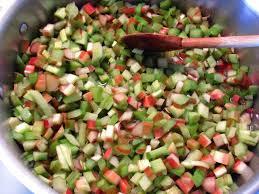 cuisine rhubarbe rhubarbe plantation culture récolte et utilisation