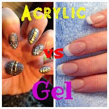 gel nail vs acrylic cute nails for women
