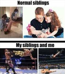 Funny Sibling Memes - there are no rivalries quite like sibling rivalries 20 pics
