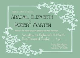 wedding invitation wording casual informal wedding invitation wording from and groom