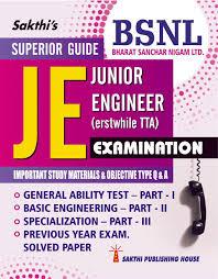 buy bsnl junior engineer tta recruitment exam guide book online