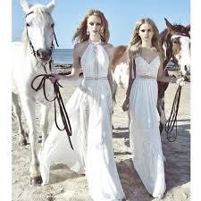 white halter sleeveless long party dress maxi dress for beach