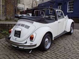 volkswagen beetle white convertible 1972 volkswagon beetle 1302 ls cabriolet conversion being