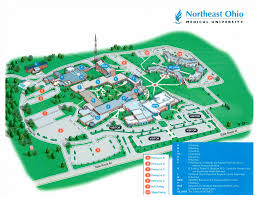 Ohio State Map by Map Of Campus Village At Neomed Village At Neomed