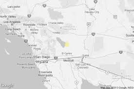 california map el centro earthquake 3 0 quake strikes near niland california latimes