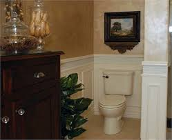 half bath wainscoting ideas pictures remodel and decor my mom s bathroom remodel before after wainscoting half