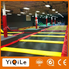 new and giant indoor commercial trampoline park trampoline bed for