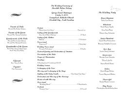 wedding ceremony program template wedding reception program sle templates memes diy wedding