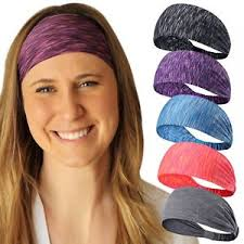 stretchy headbands sweatbands sports headbands wicking stretchy wrap ideals for