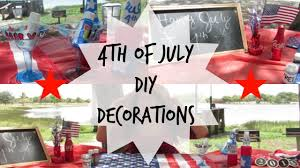 last minute 4th of july diy decorations and crafts youtube