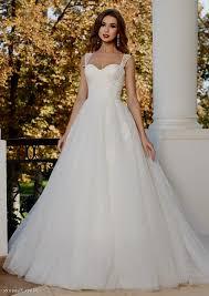 wedding dress sweetheart neckline with straps naf dresses