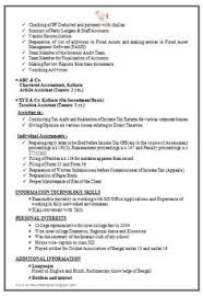 Accounting Resumes Samples by Good Resume Format For Experienced Accountant Http Www