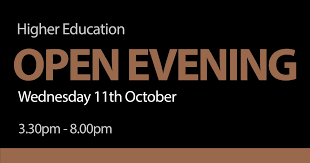 stockport college on our higher education evening is