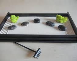 Desk Rock Garden Table Top Zen Garden Etsy