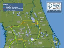 Citrus County Florida Map by Close The Gaps Coast To Coast U0026 Regional Loops Commute Orlando