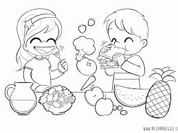 healthy eating habits coloring pages coloring pages ideas