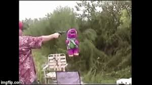 Meme Maker Gif - barney meets his maker important videos know your meme