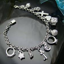 silver bracelet with pendant images Wholesale silver bracelets jpg